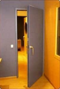 Acouistic Steel Doors