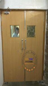 Wooden Acoustic Fire Door