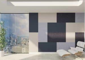 Acoustic Fabric Foam Panels