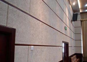 Wooden Fiber Wall Panels