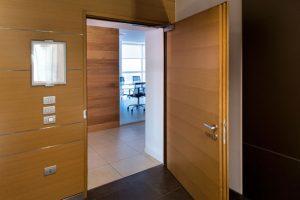 wooden acoustics door