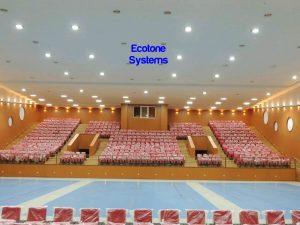 soundproofing in auditorium